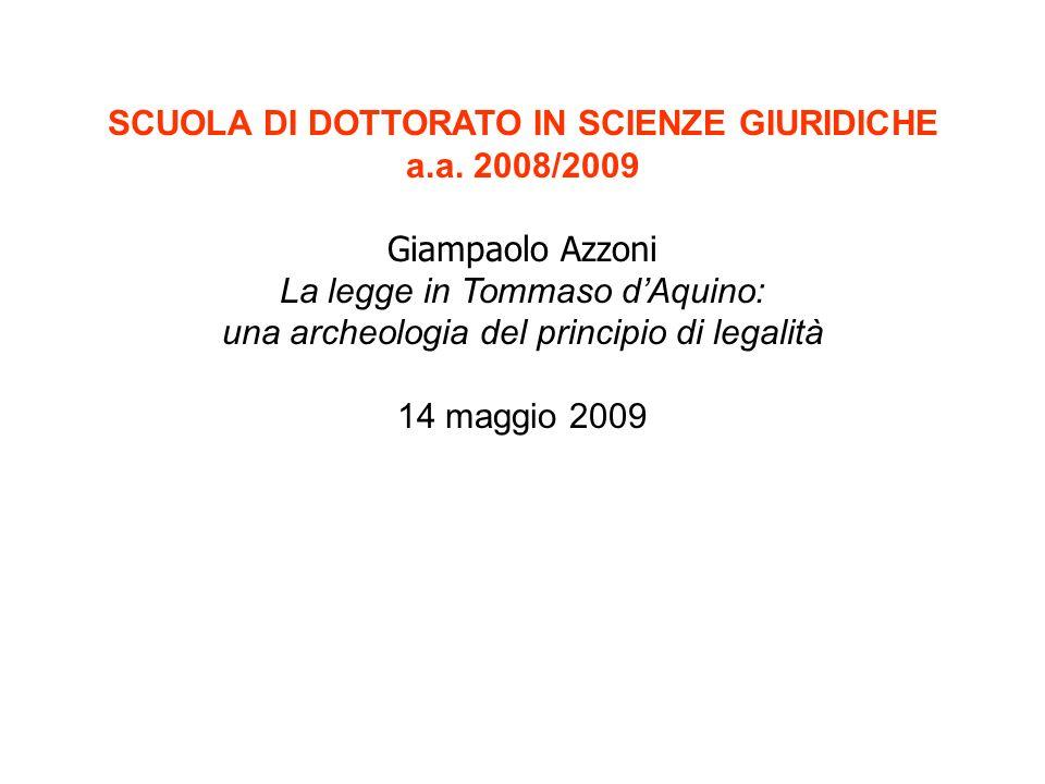 SCUOLA DI DOTTORATO IN SCIENZE GIURIDICHE a.a.