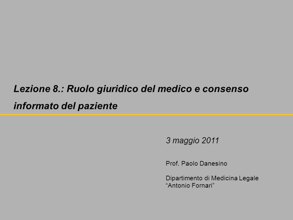 Sentenza 03.04.07 Corte di Appello di Genova I° sezione Il medico non può esimersi dalla responsabilità di cure non adeguate adducendo insistenze del paziente.
