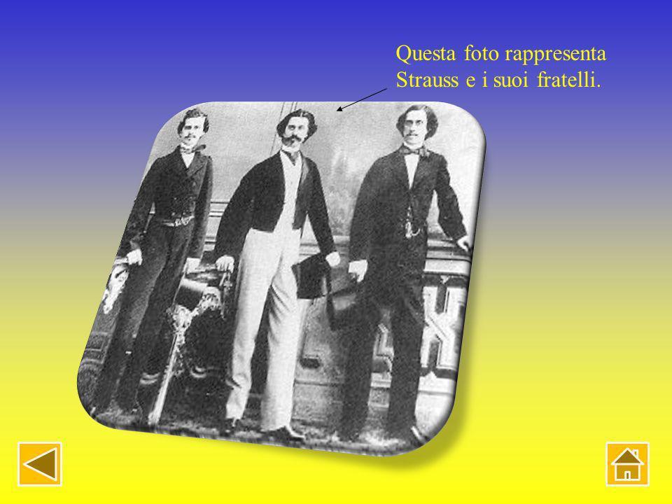 La famiglia Strauss Genitori Johann Strauss padre (* 14 marzo 1804 Vienna; 25 settembre 1849Vienna) 1825 Maria Anna Streim (* 1801; 1870) (dalla succe