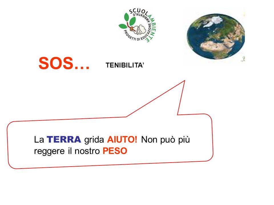 La TERRA grida AIUTO! Non può più reggere il nostro PESO SOS… TENIBILITA