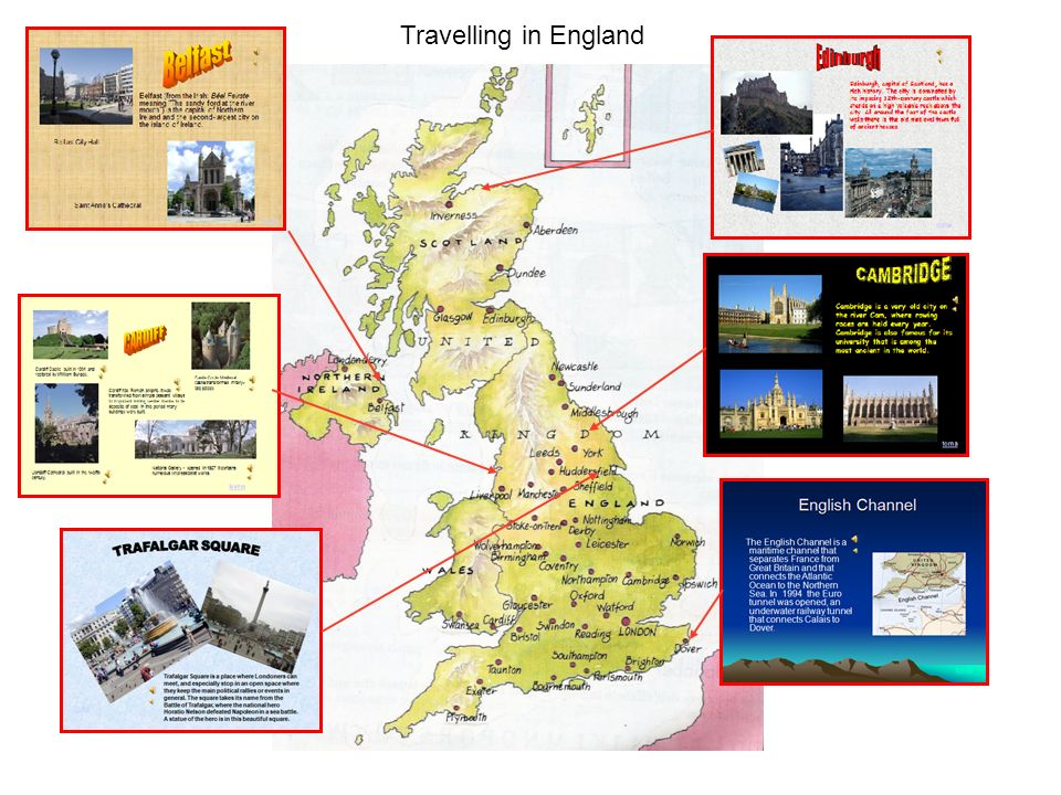 Inglese Travelling in England
