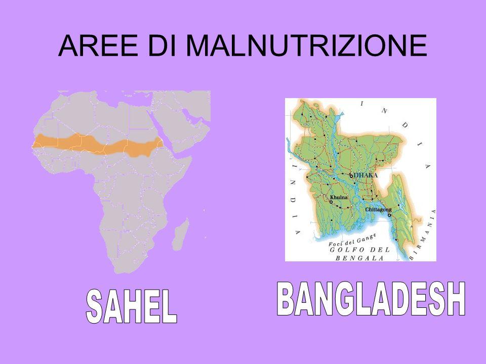 AREE DI MALNUTRIZIONE