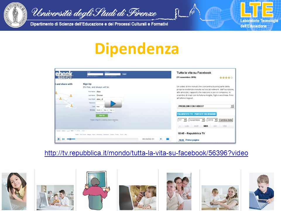 Dipendenza http://tv.repubblica.it/mondo/tutta-la-vita-su-facebook/56396?video
