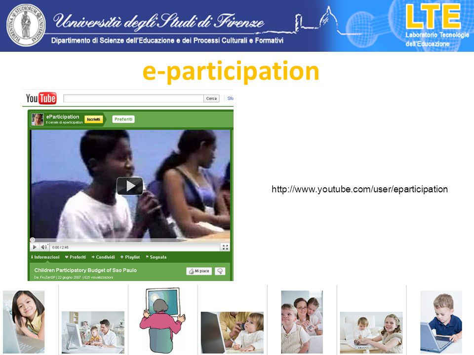 e-participation http://www.youtube.com/user/eparticipation