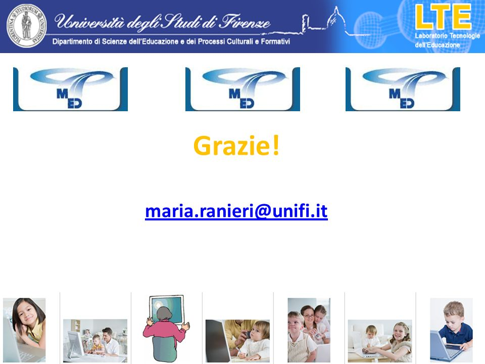 Grazie! maria.ranieri@unifi.it