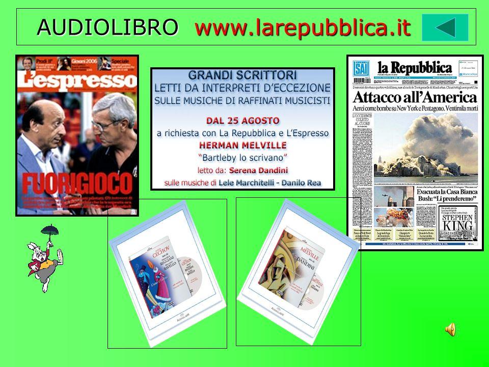 AUDIOLIBRO www.larepubblica.it AUDIOLIBRO www.larepubblica.it