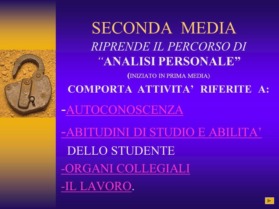 CLASSE PRIMA MEDIA -PROGETTO ACCOGLIENZA -CONOSCENZA DI SE -CONOSCENZA DELLA SCUOLACONOSCENZA DELLA SCUOLA - CONOSCENZA DEL TERRITORIO.