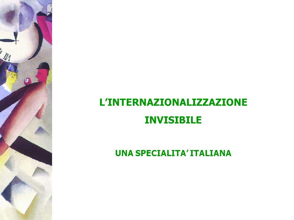 LINTERNAZIONALIZZAZIONE INVISIBILE UNA SPECIALITA ITALIANA