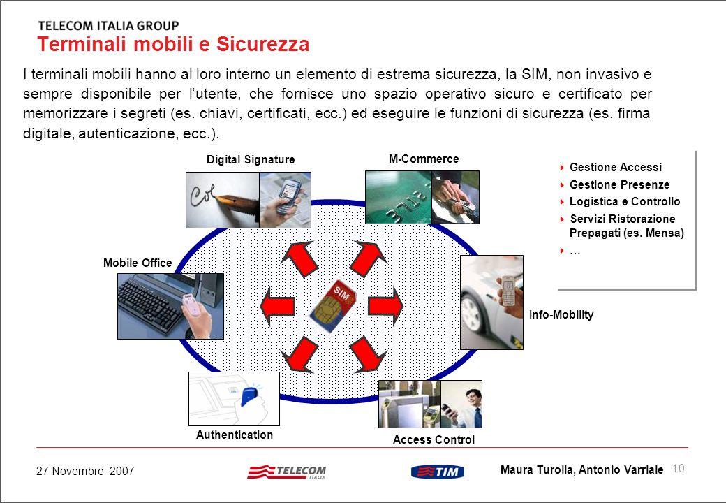 9 Maura Turolla, Antonio Varriale 27 Novembre 2007 Z-SIM ZIGBEE Attraverso una rete ZigBee gli oggetti acquistano intelligenza Digital Smart City SIM
