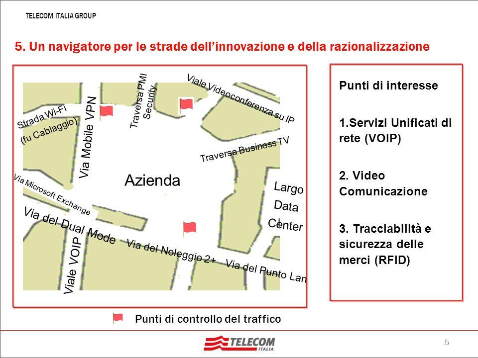 4 TELECOM ITALIA GROUP 4. NGN2: la banda veste XXL larga banda (fino a 20 Mbps) sullinterno territorio nazionale e della larghissima banda (fino a 100