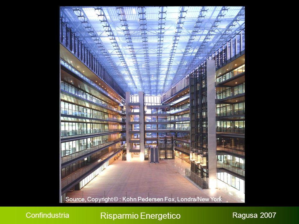 Confindustria Risparmio Energetico Ragusa 2007 Source, Copyright © : Kohn Pedersen Fox, Londra/New York