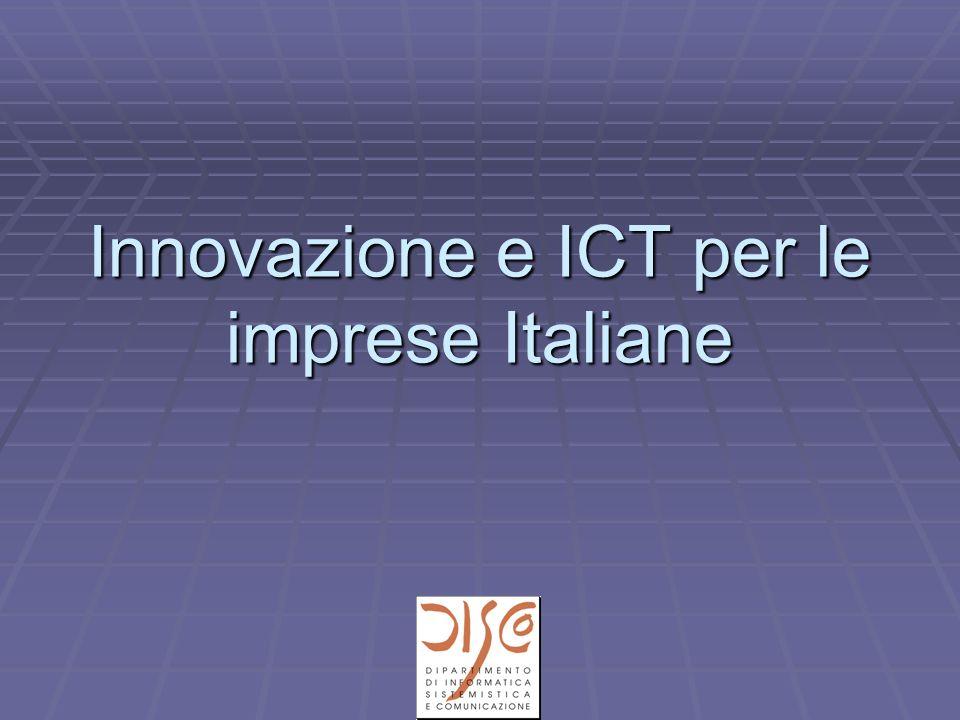 Innovazione e ICT per le imprese Italiane