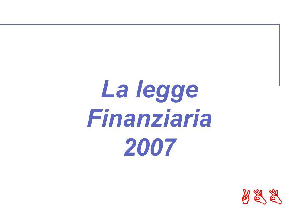 ABB La legge Finanziaria 2007