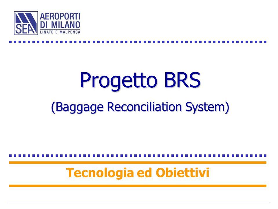Progetto BRS (Baggage Reconciliation System) Tecnologia ed Obiettivi