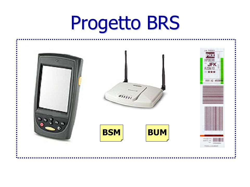 Progetto BRS Gestione bagagli left behind.
