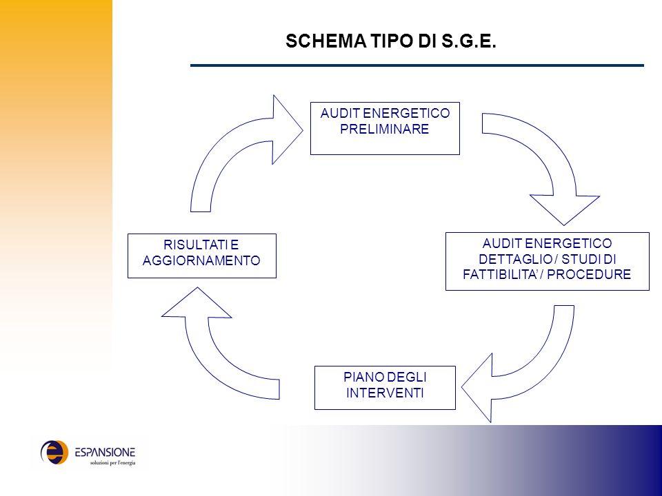 SCHEMA TIPO DI S.G.E.