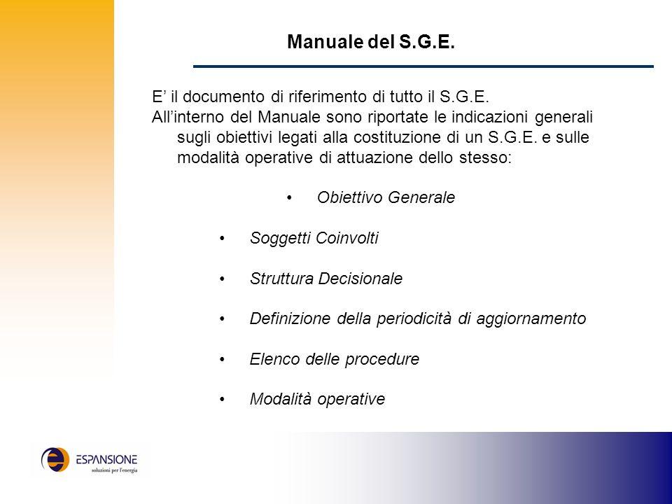 Matrice generale delle attività e delle responsabilità Direzione Responsabile di Produzione Responsabile Ufficio Acquisti Responsabile Energetico (RE)