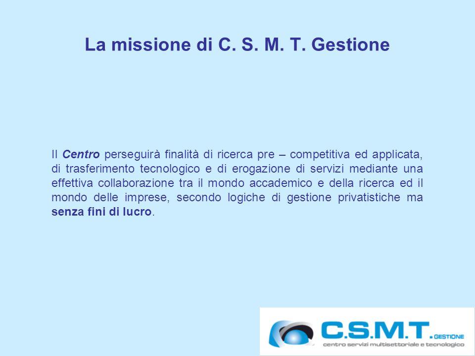 27 La missione di C. S. M. T.