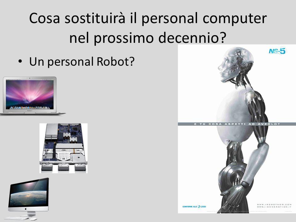 Cosa sostituirà il personal computer nel prossimo decennio? Un personal Robot?