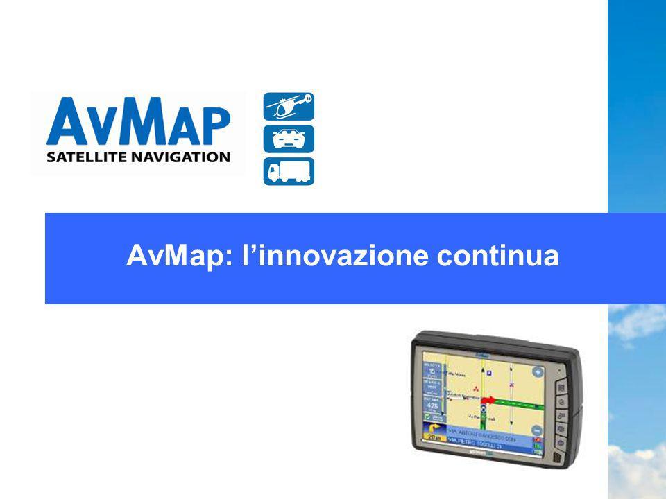 Indice Presentazione aziendale Linnovazione per AvMap Le innovazioni di AvMap Conclusione