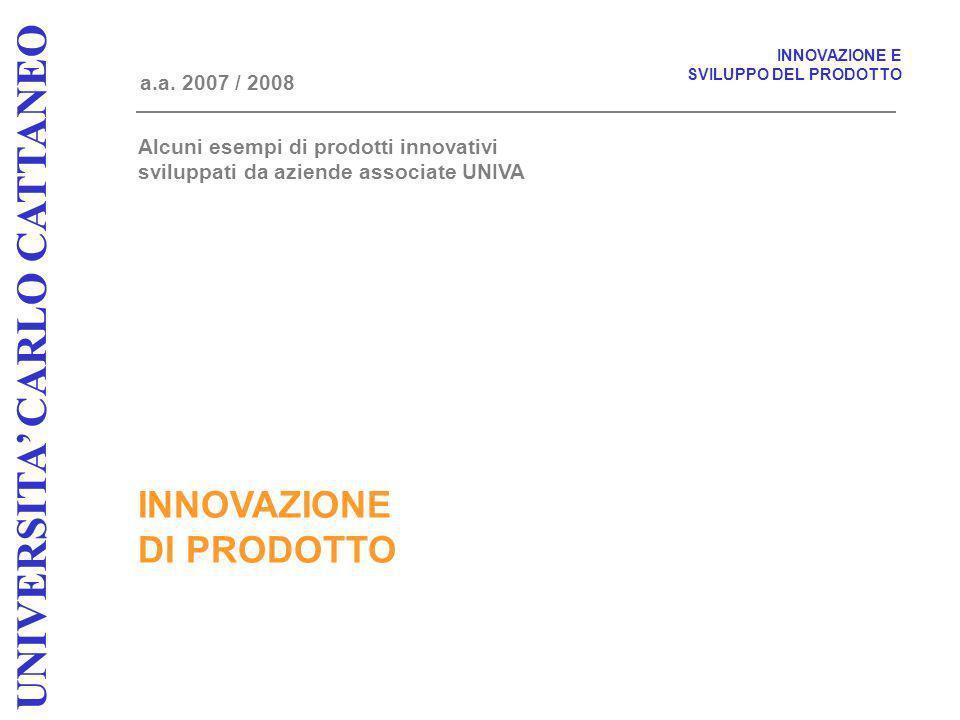 INNOVAZIONE DI PRODOTTO a.a.
