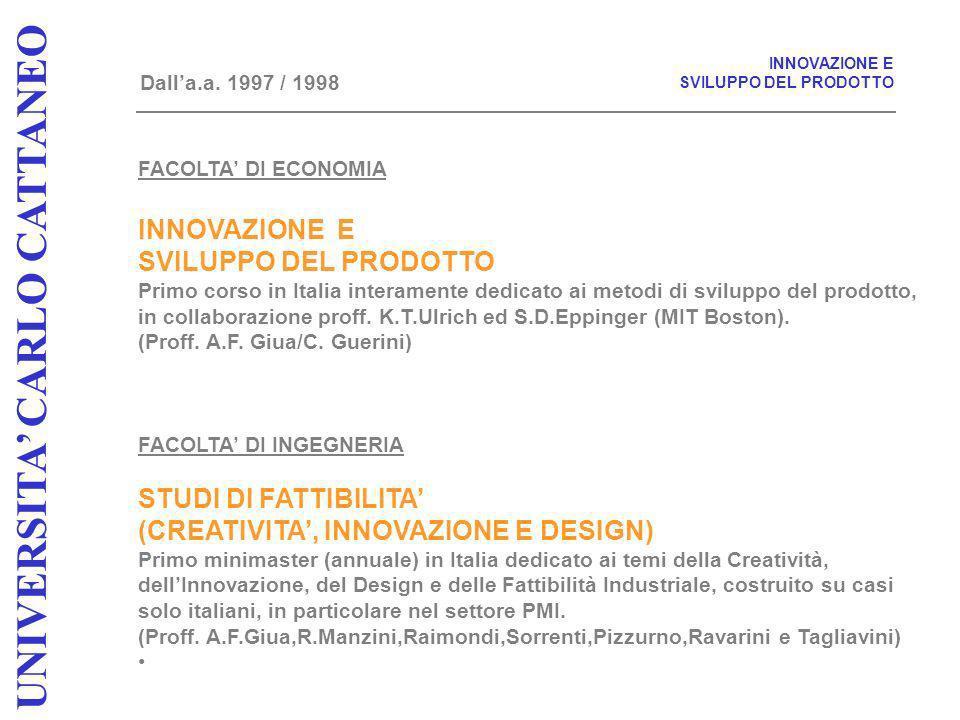 UNIVERSITA CARLO CATTANEO UNIVERSITA CARLO CATTANEO IL MODELLO MICROECONOMICO DELLA PMI ITALIANA SI APPOGGIAVA SU TRE GRANDI PILASTRI: 1.