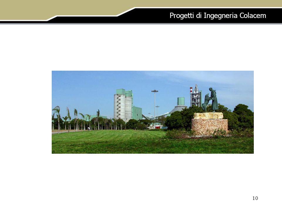 10 Progetti di Ingegneria Colacem