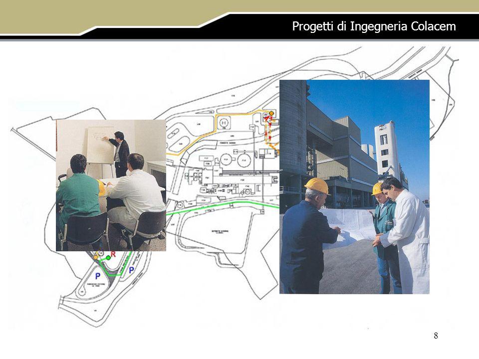8 Progetti di Ingegneria Colacem