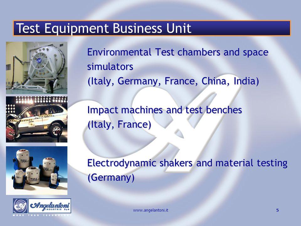 16www.angelantoni.it Angelantoni Industrie Paris April 2006 Grazie per la Vostra attenzione