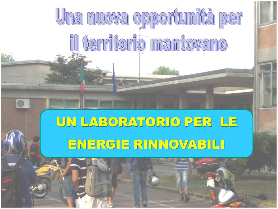 UN LABORATORIO PER LE ENERGIE RINNOVABILI