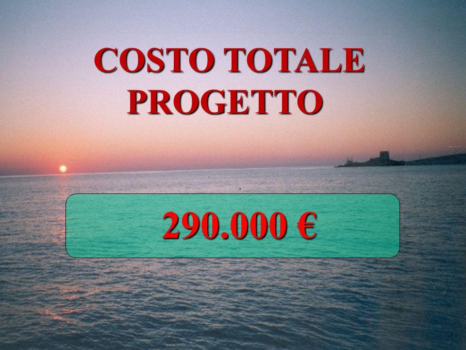COSTO TOTALE PROGETTO 290.000 290.000