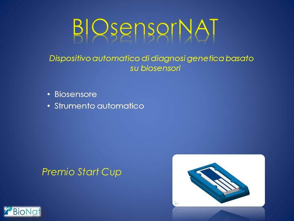 Dispositivo automatico di diagnosi genetica basato su biosensori Biosensore Strumento automatico Premio Start Cup