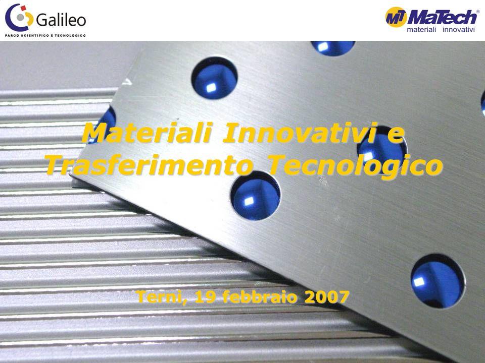 Materiali Innovativi e Trasferimento Tecnologico Terni, 19 febbraio 2007