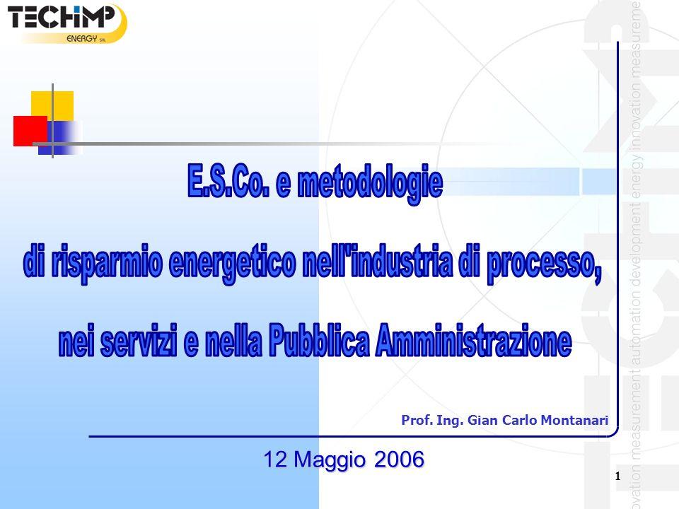 1 12 Maggio 2006 Prof. Ing. Gian Carlo Montanari