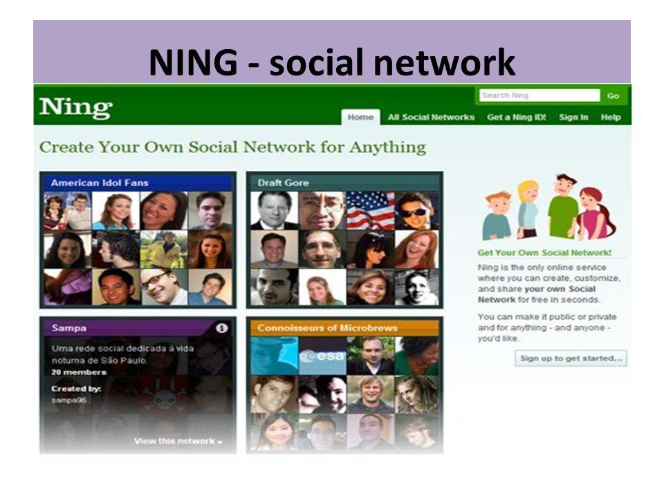 NING - social network
