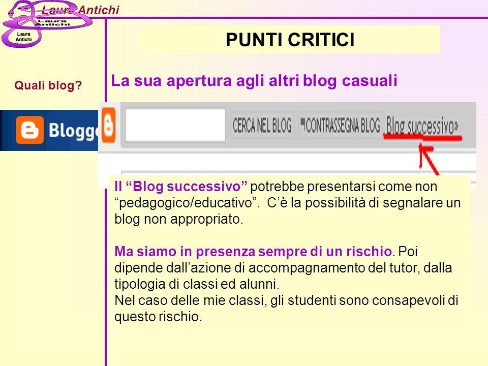 Laura Antichi Quali blog.