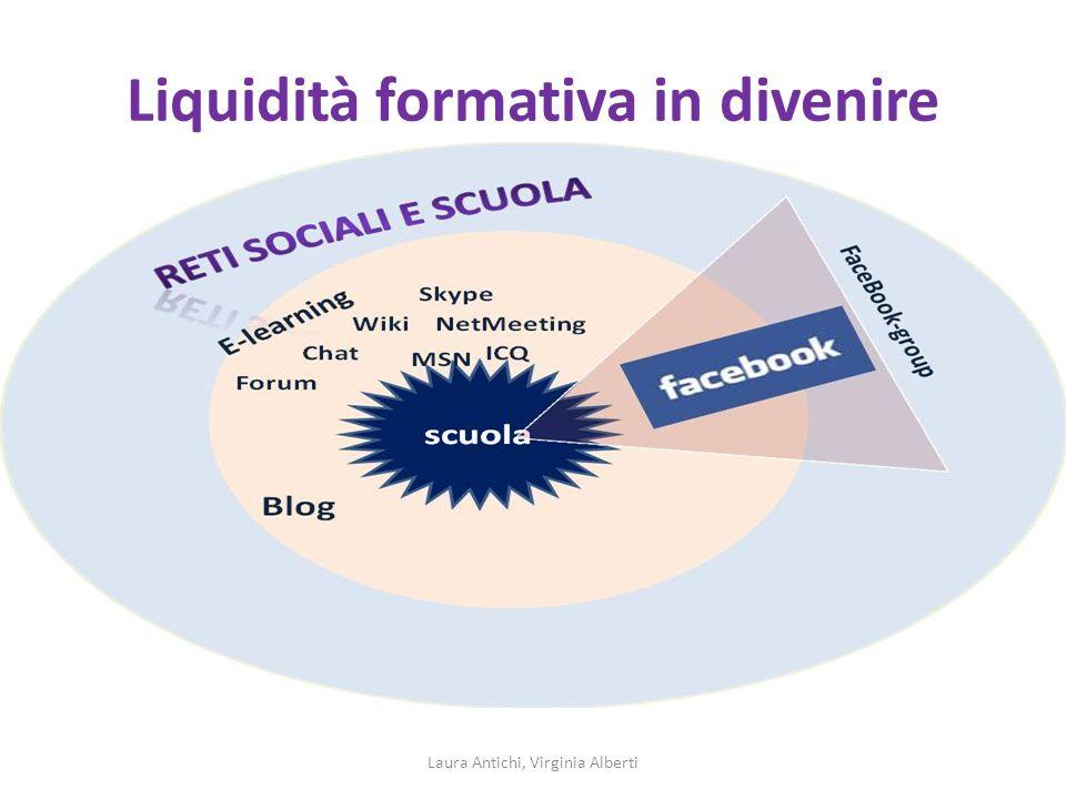 Liquidità formativa in divenire Laura Antichi, Virginia Alberti