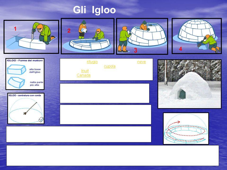 Un igloo è un rifugio costruito con blocchi di neve, generalmente a forma di cupola. È una costruzione tipica degli Inuit, popolazione originaria dell