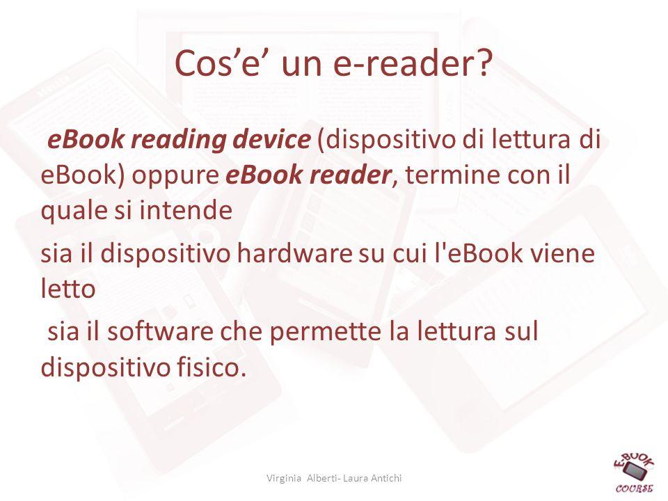 Cose un e-reader.