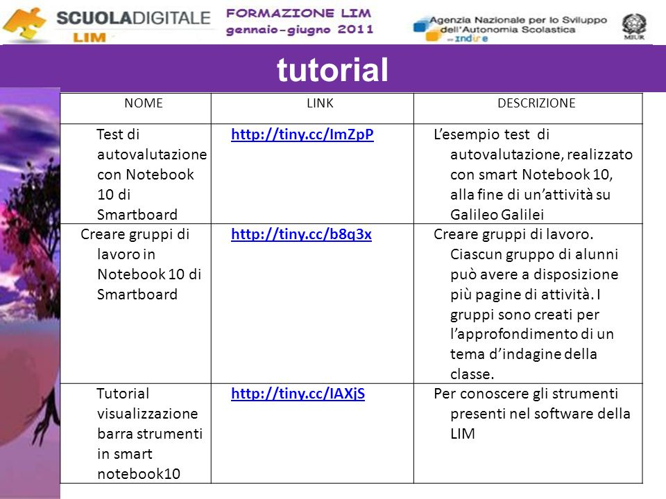 Tutorial per scaricare notebook 10 collegati al sito: http://smarttech.com/NB10ProductKey/Download.aspx?lang=it-IT