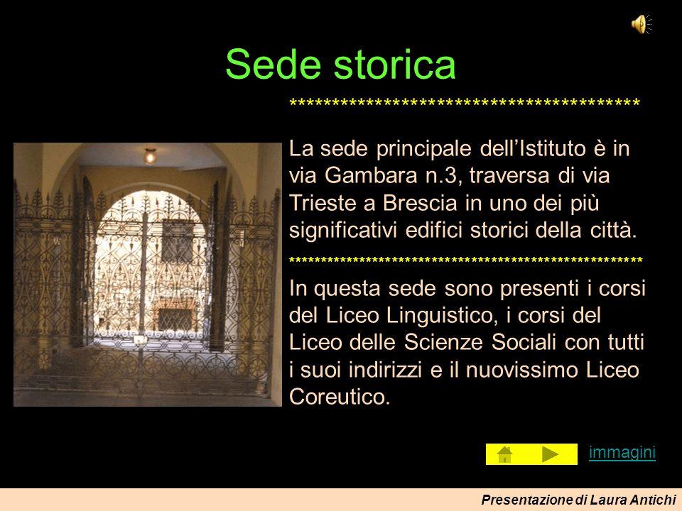 Presentazione di Laura Antichi Immagini laboratorio