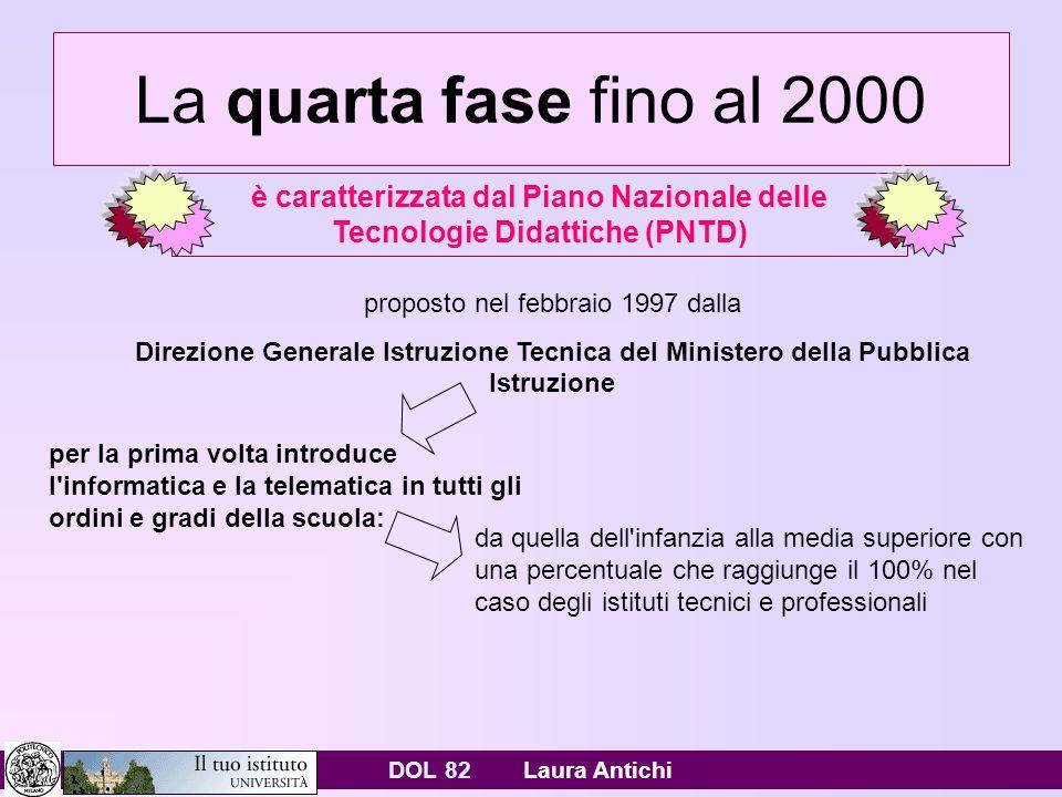 DOL 82 Laura Antichi Opinioni sparse Il rapporto Istat 2006 sulle ICT: Unimmagine sullo stato del divario digitale nel nostro paese.