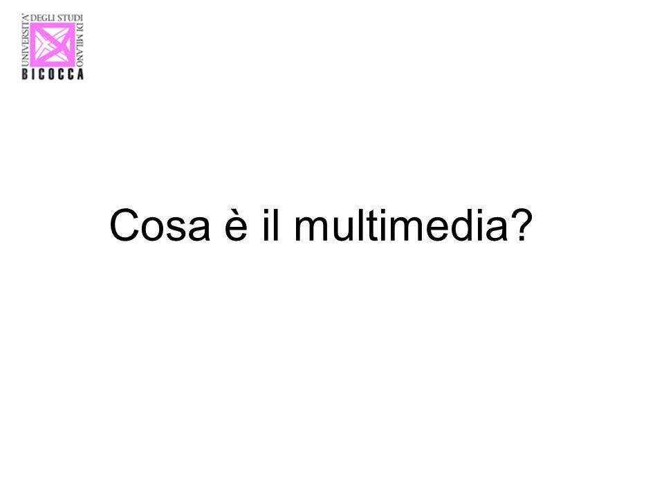 Cosa è il multimedia?
