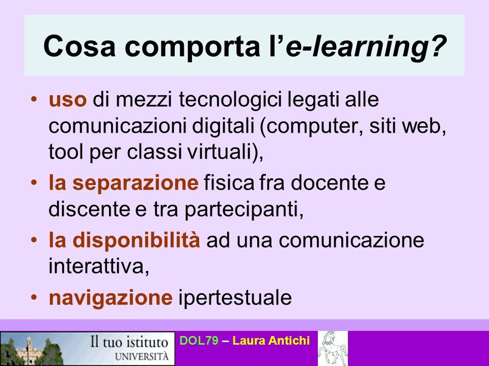 DOL79 – Laura Antichi Cosa comporta le-learning.