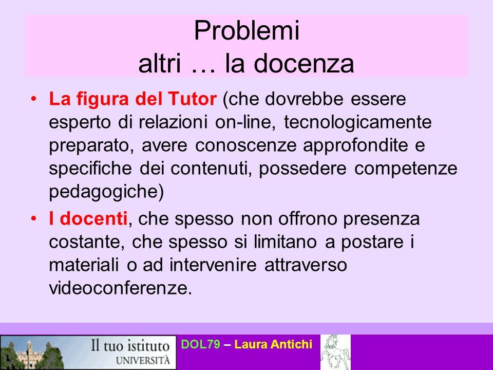 DOL79 – Laura Antichi Cosè le-learning.
