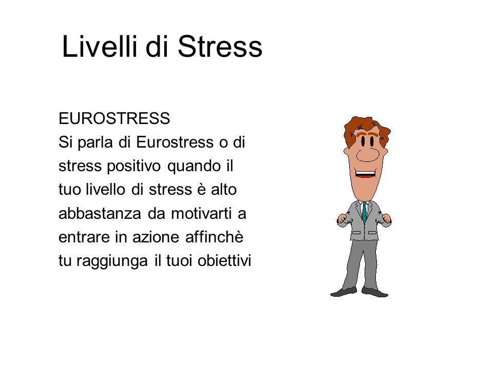 Cosè lo Stress? Lo stress è la risposta del nostro organismo alle sollecitazioni dellambiente Il livello di stress dipende dallintensità e dalla durat
