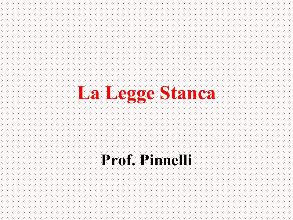 La Legge Stanca Prof. Pinnelli