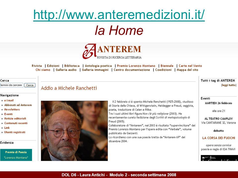 http://www.anteremedizioni.it/ http://www.anteremedizioni.it/ la Home