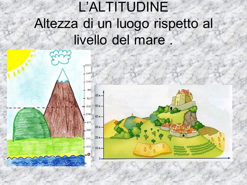 Le colline hanno origini diverse e possono essere: TETTONICHE,VULCANICHE, e MORENICHE