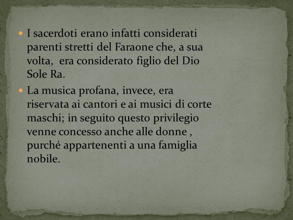 Nell antica Grecia la musica era molto importante sia nella vita sociale sia in quella religiosa.